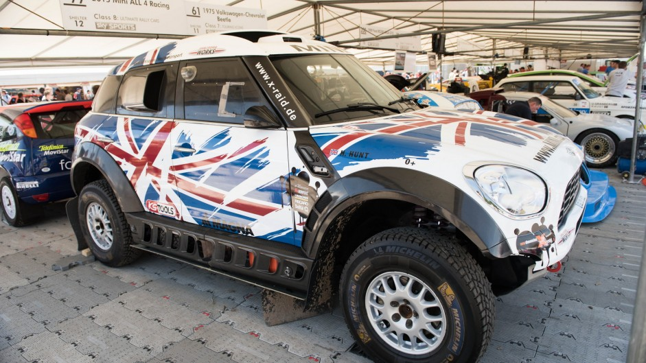 Mini All 4 Racing, Goodwood Festival of Speed, 2015