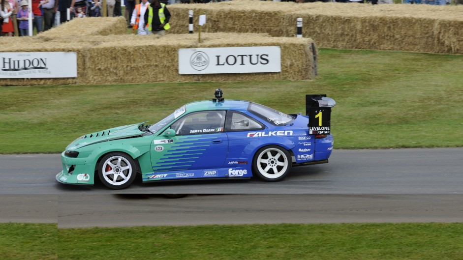 Nissan 200SX S14, Goodwood Festival of Speed, 2015