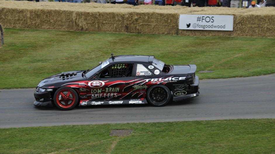 Nissan LBD PS13 V8, Goodwood Festival of Speed, 2015
