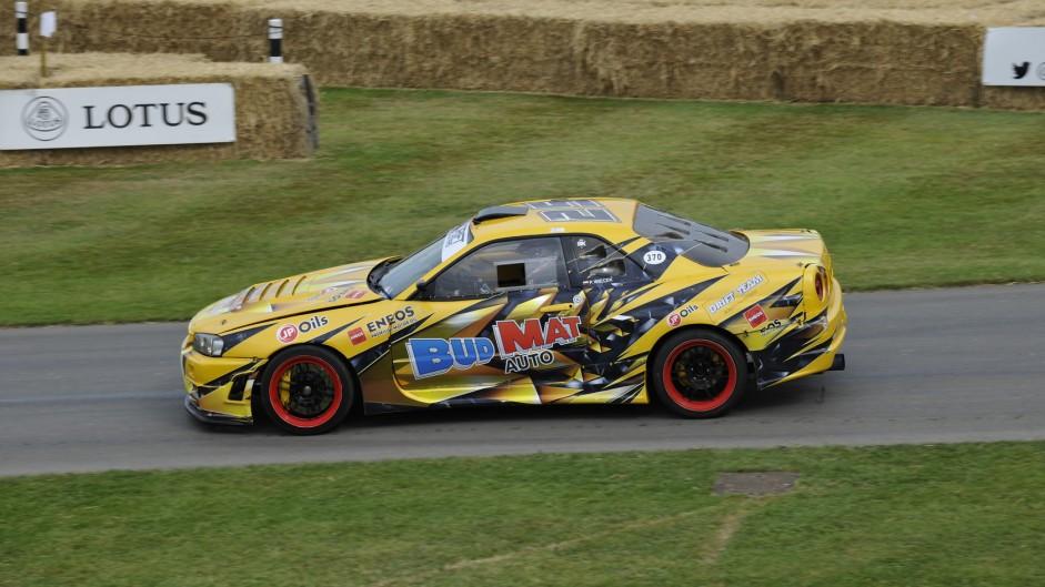 Nissan Skyline R34 GT-T, Goodwood Festival of Speed, 2015