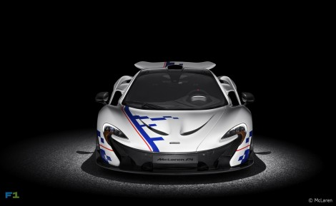 McLaren P1 Prost Front