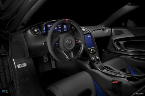 McLaren P1 Prost Interior Dash