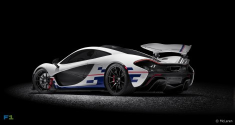 McLaren P1 Prost Rear three-quarter
