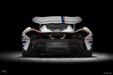 McLaren P1 Prost Rear