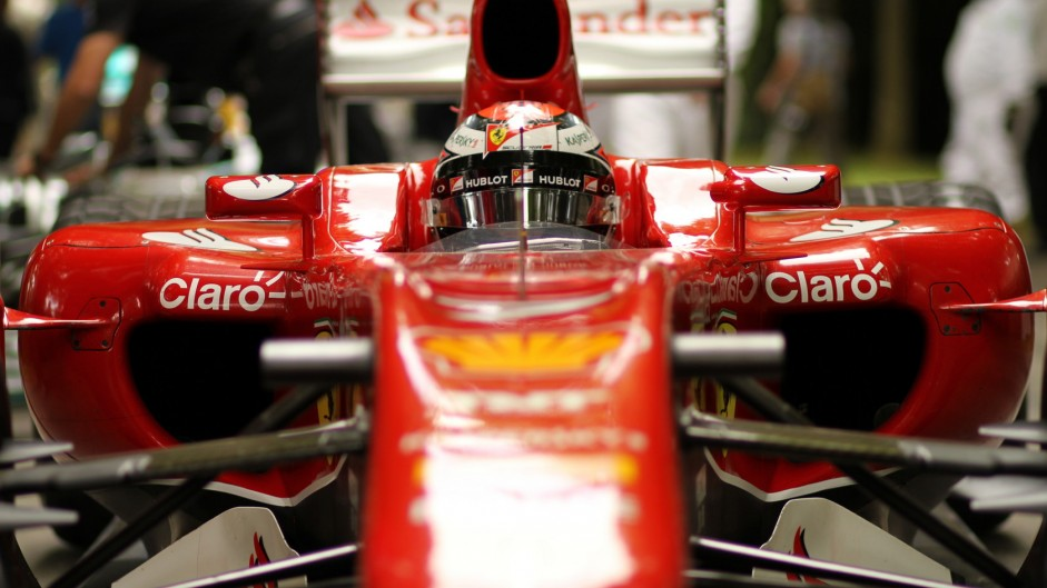 Goodwood Festival 2015: F1 cars of the 2000s