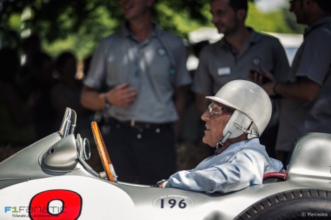 Stirling Moss, Goodwood Festival of Speed, 2015