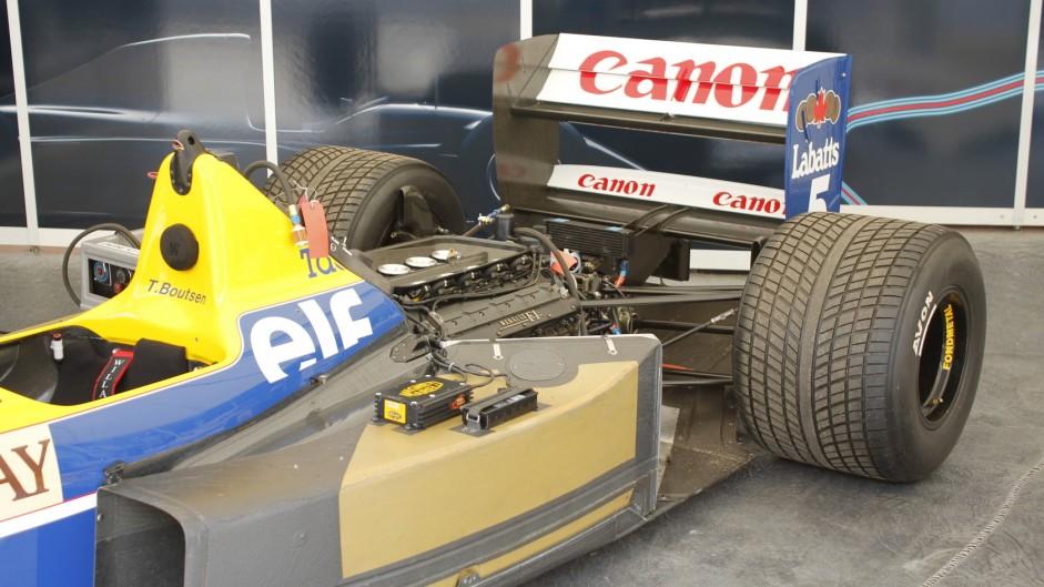 Williams FW13B, Goodwood Festival of Speed, 2015