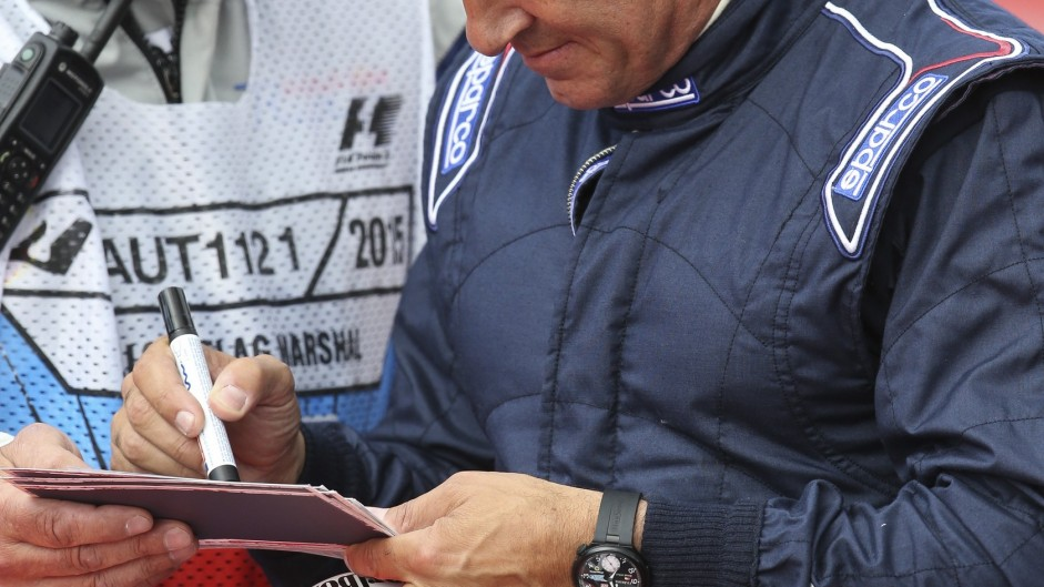 Jean Alesi, Red Bull Ring, 2015