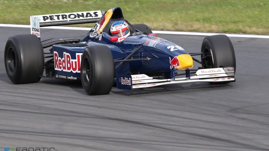 Jean Alesi, Sauber C14, Red Bull Ring, 2015