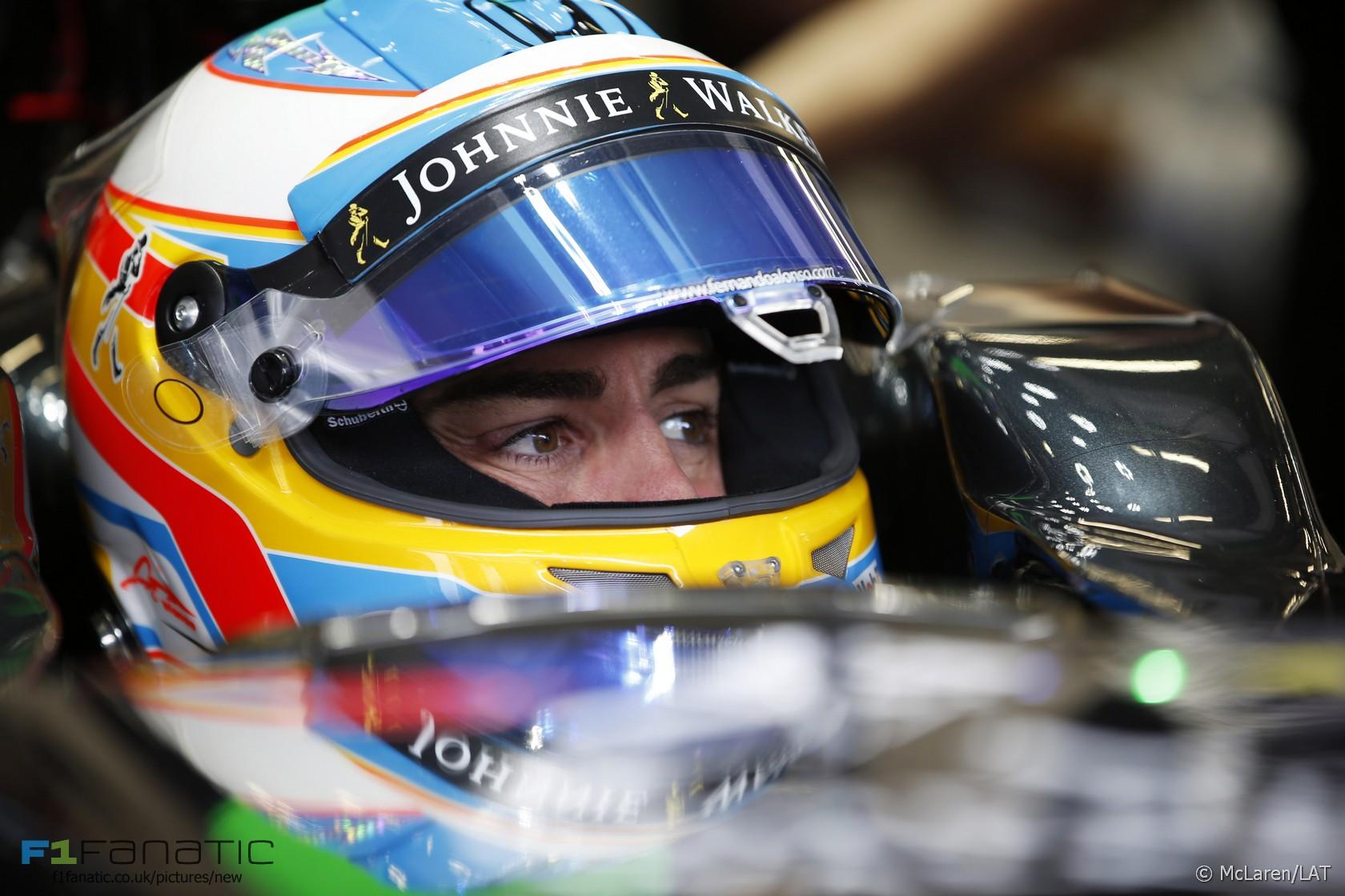 Fernando Alonso, McLaren, Red Bull Ring, 2015