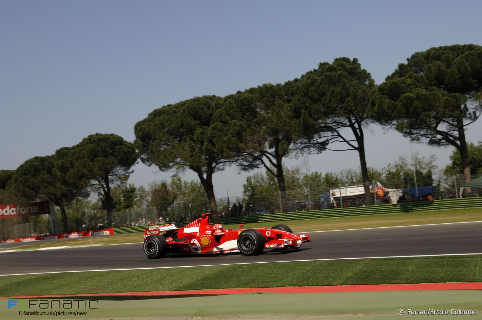Michael Schumacher, Ferrari, Imola, 2006
