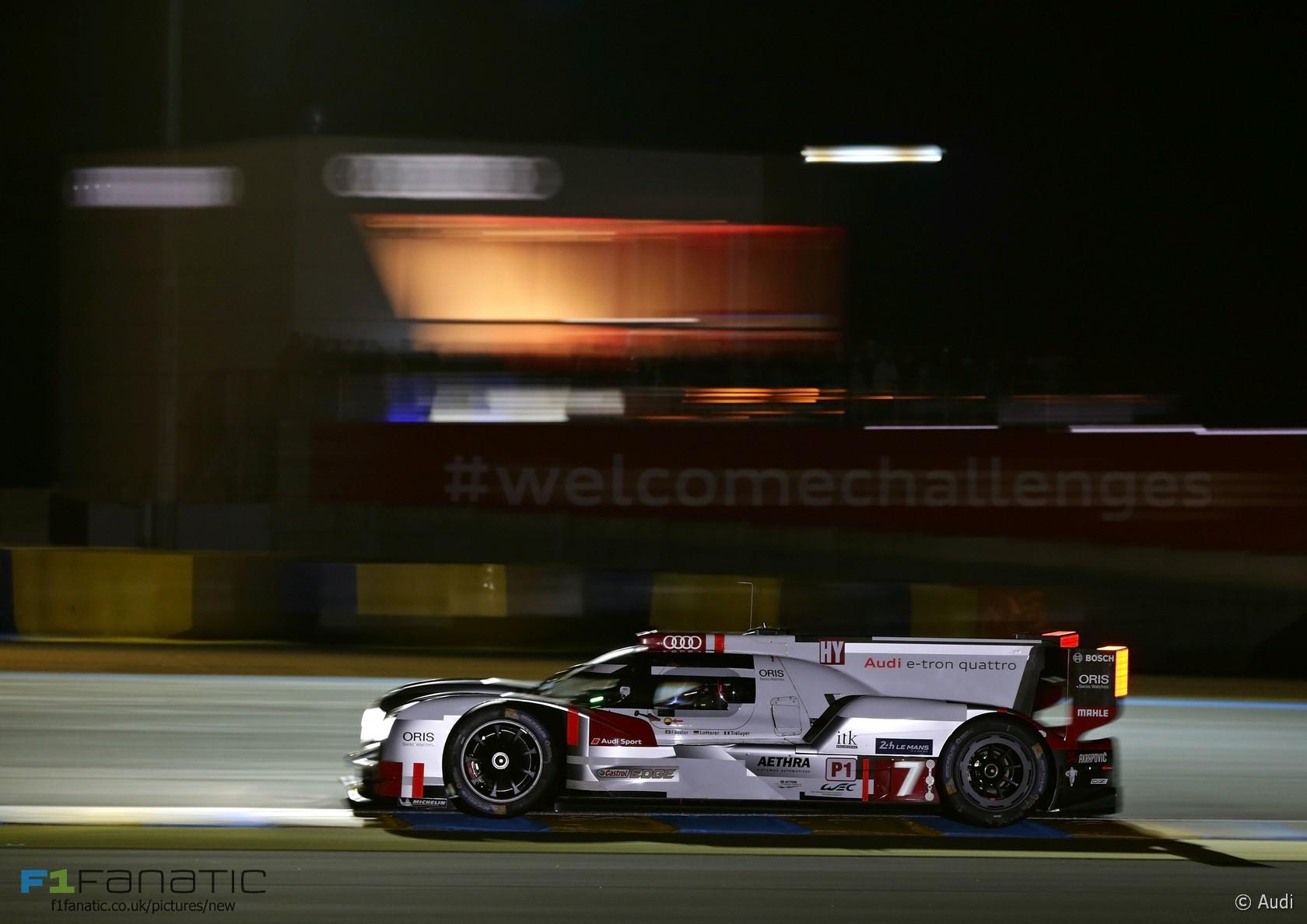Audi R18 Etron Quattro 7 Marcel Fassler Andre Lotterer