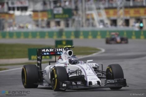 Valtteri Bottas, Williams, Circuit Gilles Villeneuve, 2015
