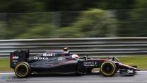 Jenson Button, McLaren, Red Bull Ring, 2015