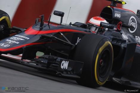 Jenson Button, McLaren, Circuit Gilles Villeneuve, 2015
