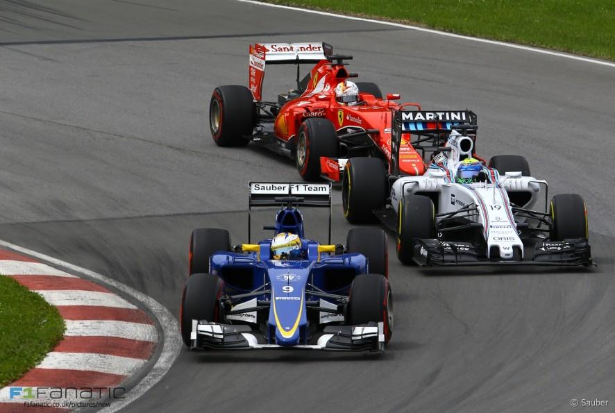 Marcus Ericsson, Sauber, Circuit Gilles Villeneuve, 2015