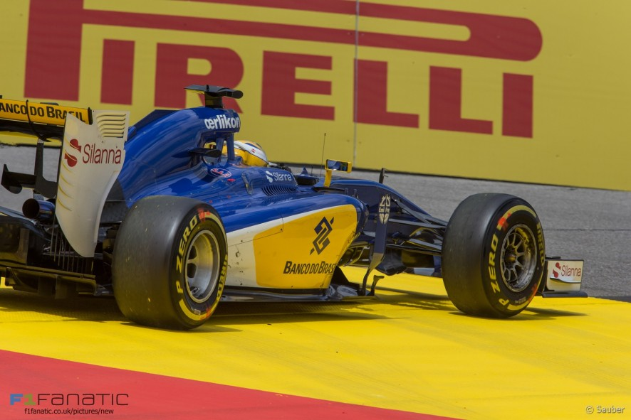 Marcus Ericsson, Sauber, Red Bull Ring, 2015