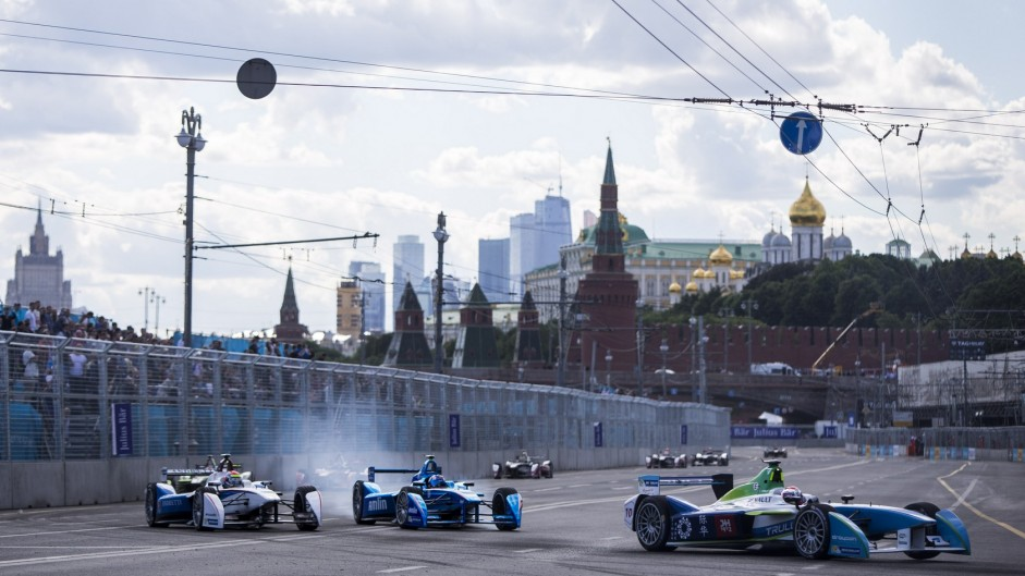 Moscow sets up final round Formula E title-decider