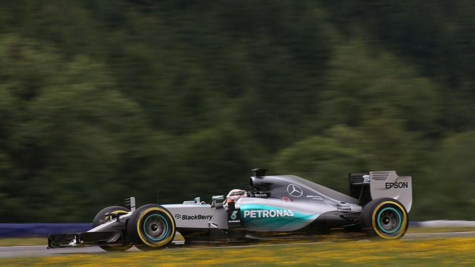 2015 Austrian Grand Prix championship points