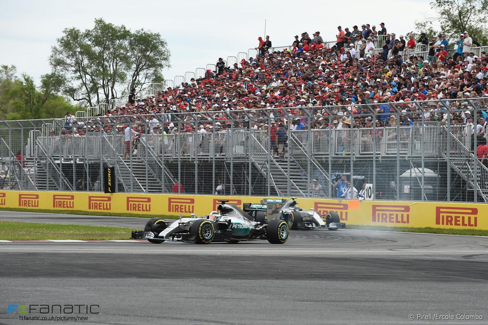 Lewis Hamilton, Mercedes, Circuit Gilles Villeneuve, 2015