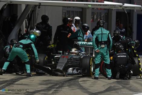 Lewis Hamilton, Mercedes, Red Bull Ring, 2015