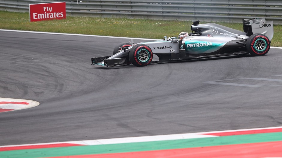 Top ten pictures from the 2015 Austrian Grand Prix