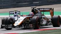 Nico Hulkenberg, Force India, Red Bull Ring, 2015