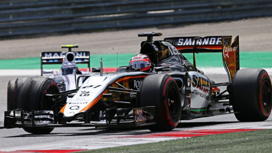 Strong run wins Hulkenberg Driver of the Weekend