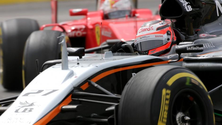 Nico Hulkenberg, Force India, Circuit Gilles Villeneuve, 2015