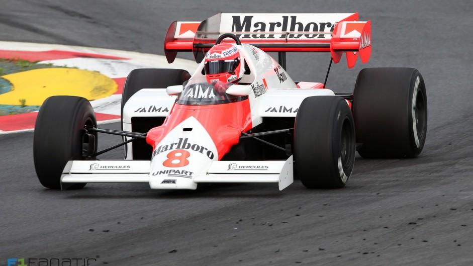 Niki Lauda, McLaren-TAG MP4-2, Red Bull Ring, 2015