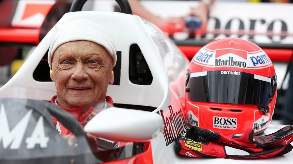 Niki Lauda, Red Bull Ring, 2015