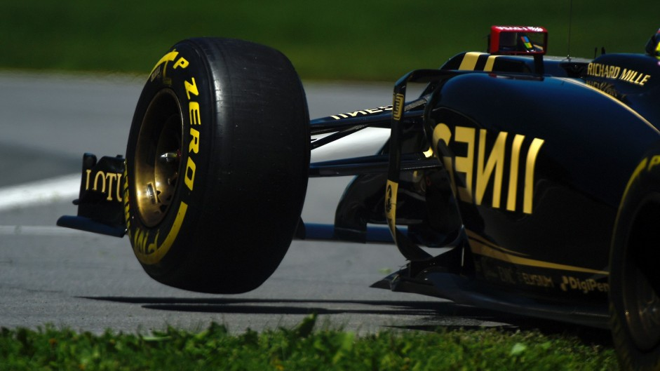 Pastor Maldonado, Lotus, Circuit Gilles Villeneuve, 2015