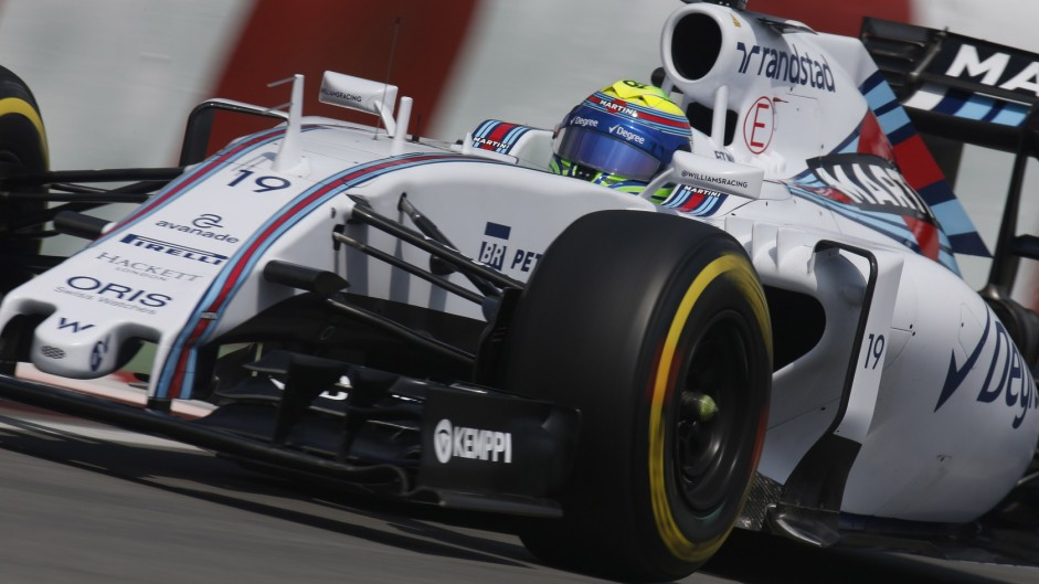 Williams target Red Bull after problem for Massa