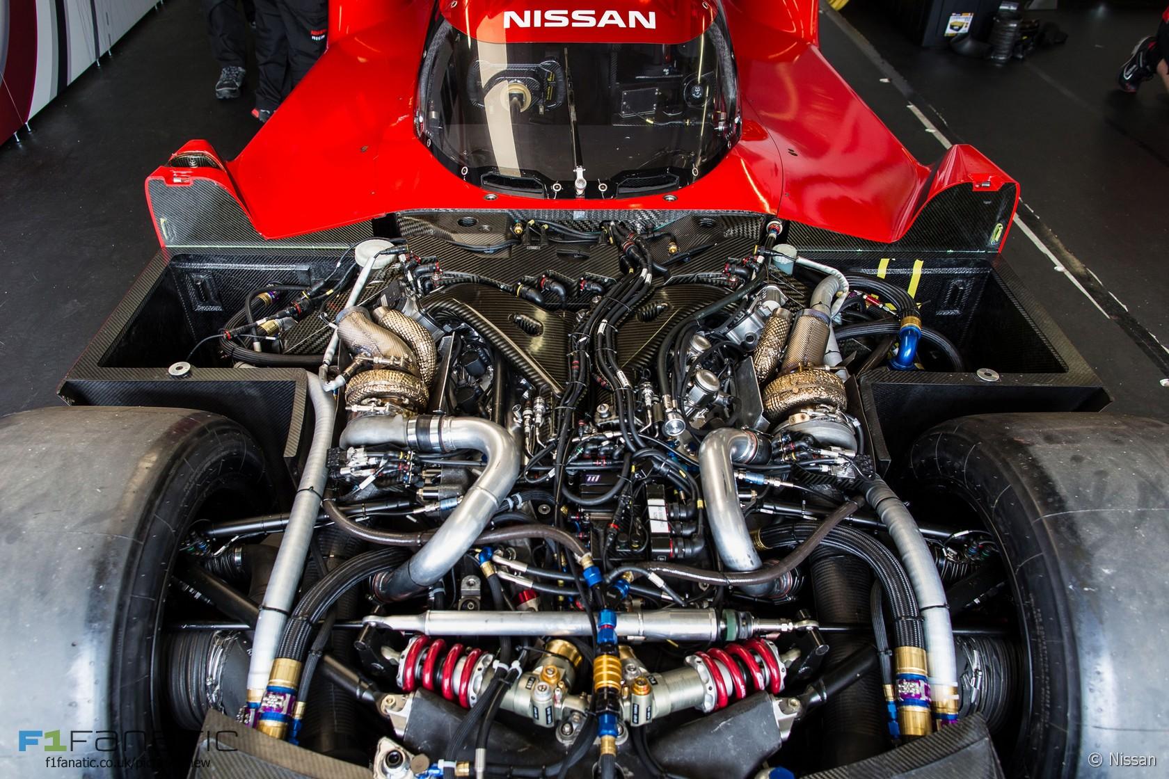 Nissan lemans engine
