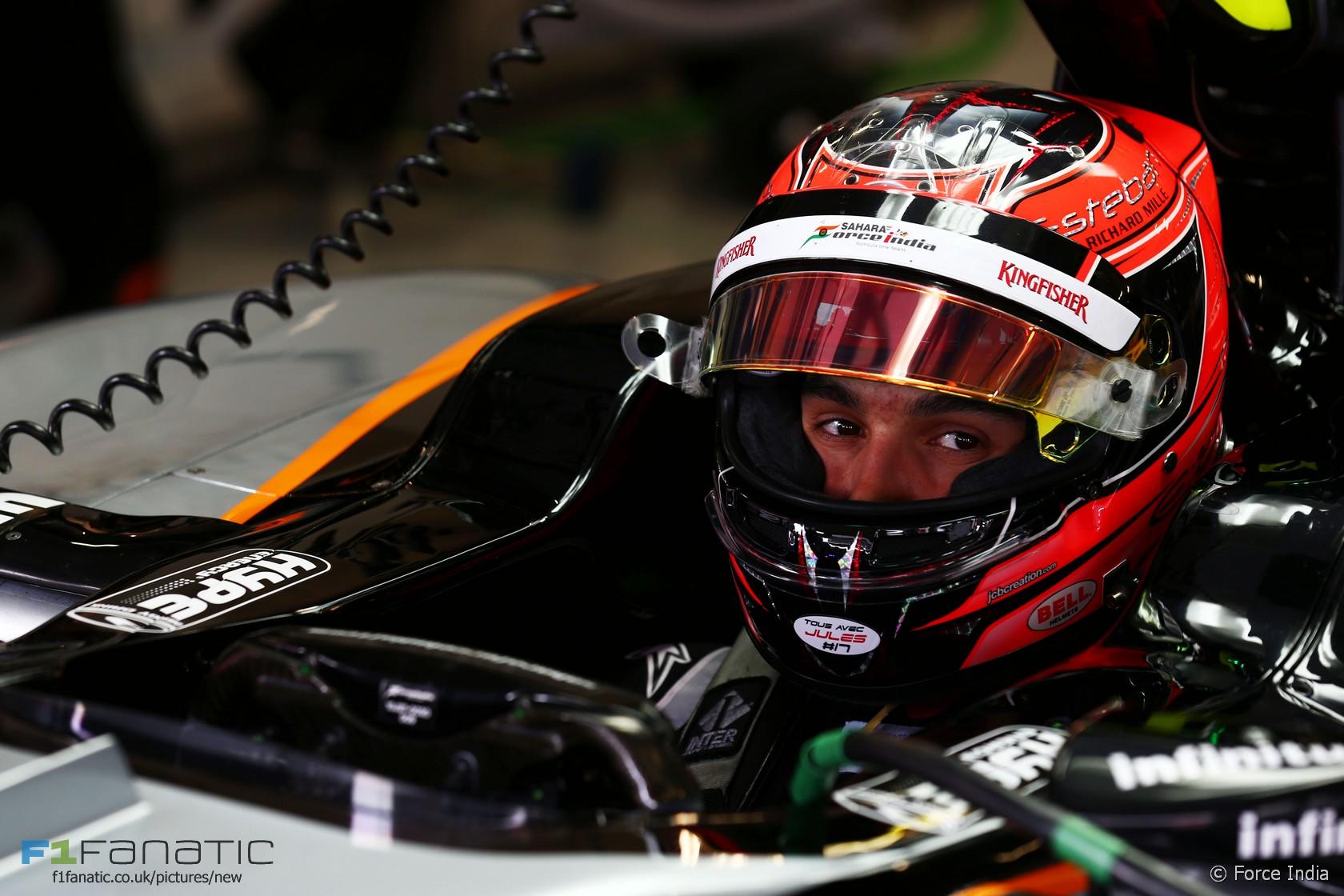 Esteban Ocon, Force India, Red Bull Ring, 2015
