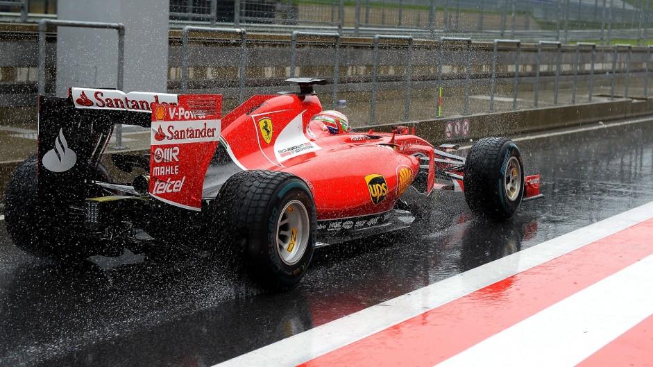 Antonio Fuoco, Ferrari, Red Bull Ring, 2015