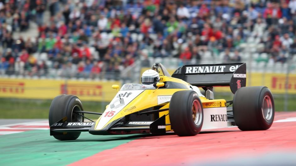 Riccardo Patrese, Renault RE50, Red Bull Ring, 2015