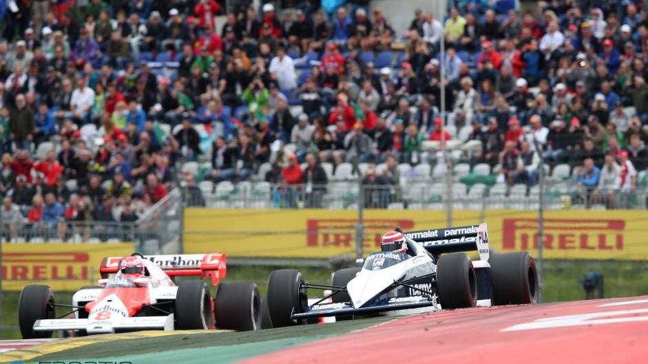 Nelson Piquet, Niki Lauda, Red Bull Ring, 2015
