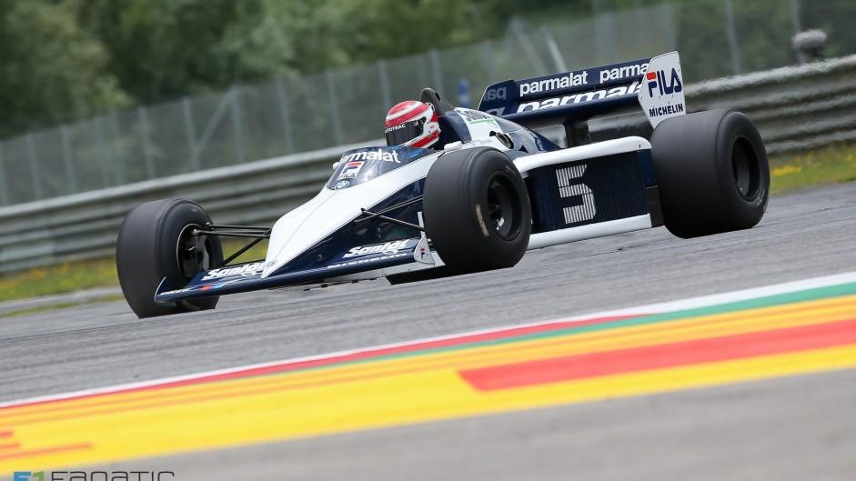 Nelson Piquet, Brabham-BMW BT52, Red Bull Ring, 2015