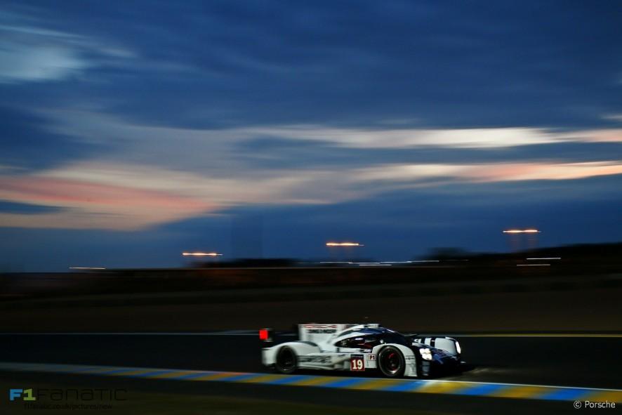 Porsche 919 #19 Nico Hulkenberg/Earl Bamber/Nick Tandy, Le Mans, 2015