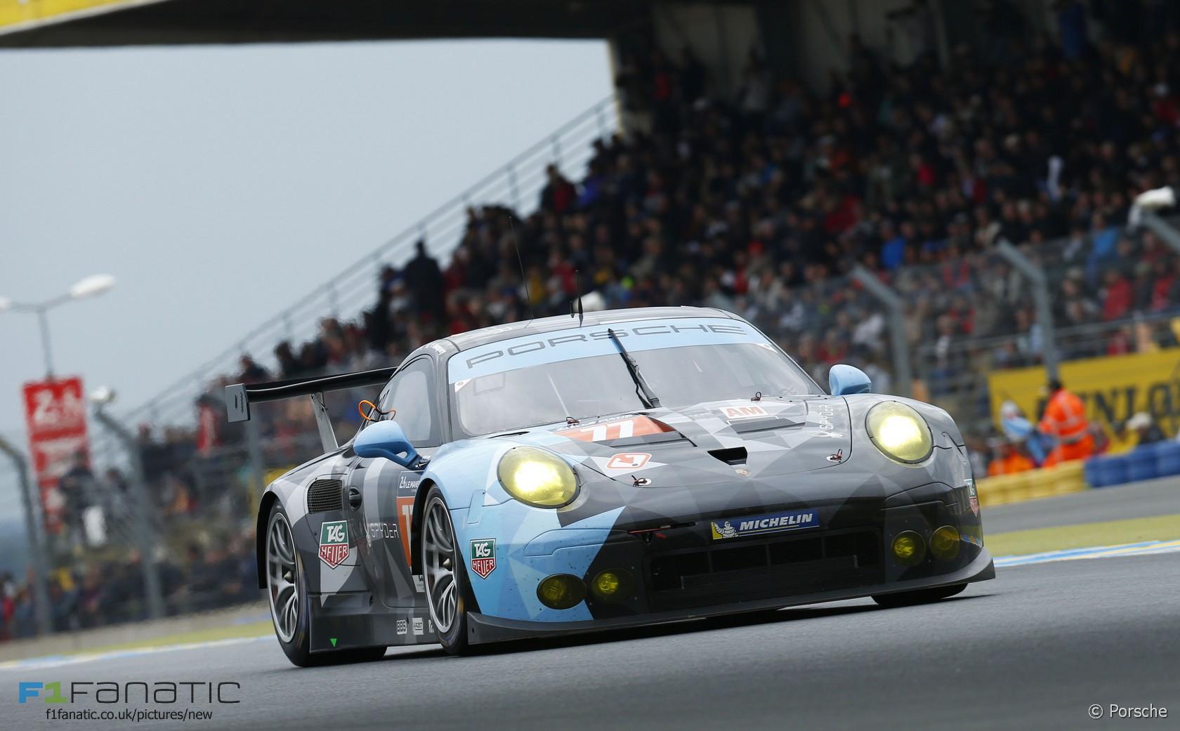 Porsche 911 77 Patrick Dempsey Patrick Long Marco Seefried Le