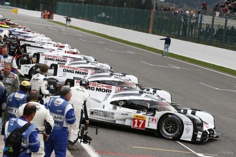 Porsche, Spa-Francorchamps, 2015