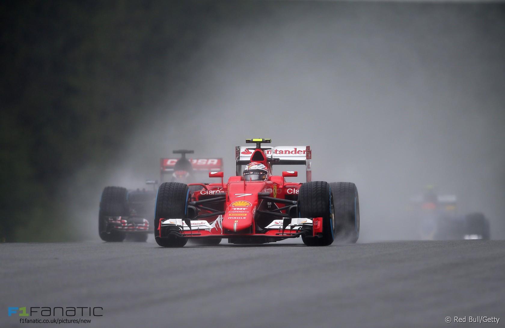 Kimi Raikkonen, Ferrari, Red Bull Ring, 2015