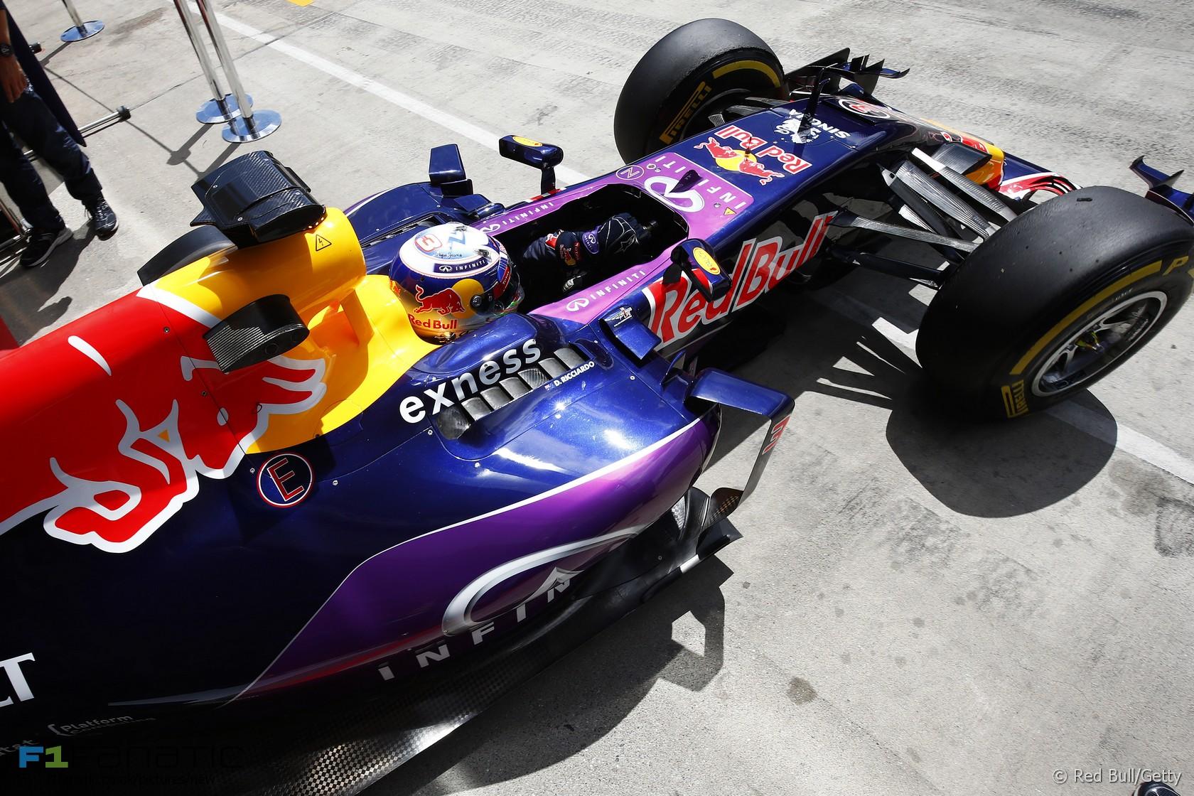 Daniel Ricciardo, Red Bull, Red Bull Ring, 2015