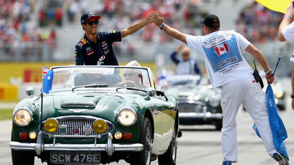 Top ten pictures from the 2015 Canadian Grand Prix