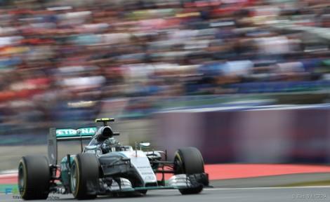 Nico Rosberg, Mercedes, Red Bull Ring, 2015