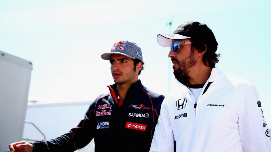 Alonso deserves more titles – Sainz