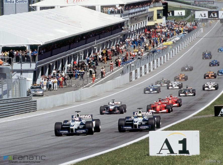 Start, A1-Ring, 2001