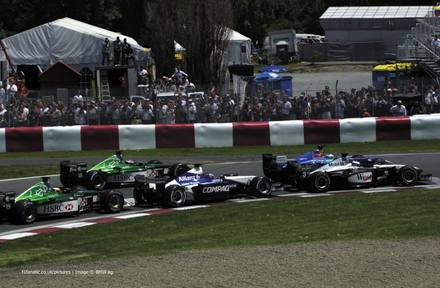 Start, Canadian Grand Prix, Circuit Gilles Villeneuve, Montreal, 2001