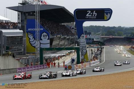 Start, Le Mans 24 Hours, 2015